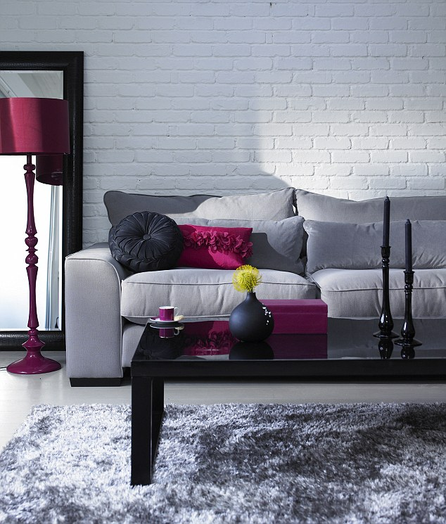 Maroon Grey And White Living Room: 69 Fabulous Gray Living Room Designs To Inspire You