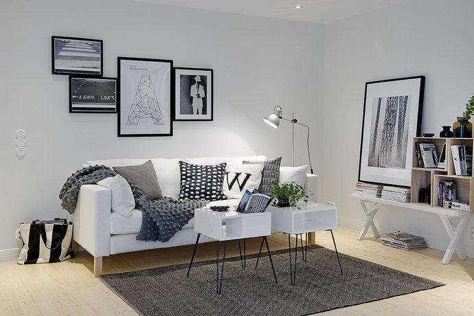 Gray Living Room 37 Designs