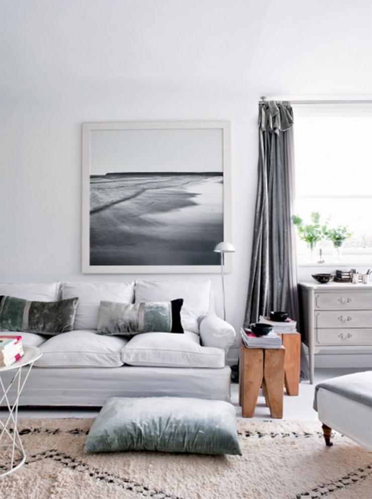 . 69 Fabulous Gray Living Room Designs To Inspire You   Decoholic