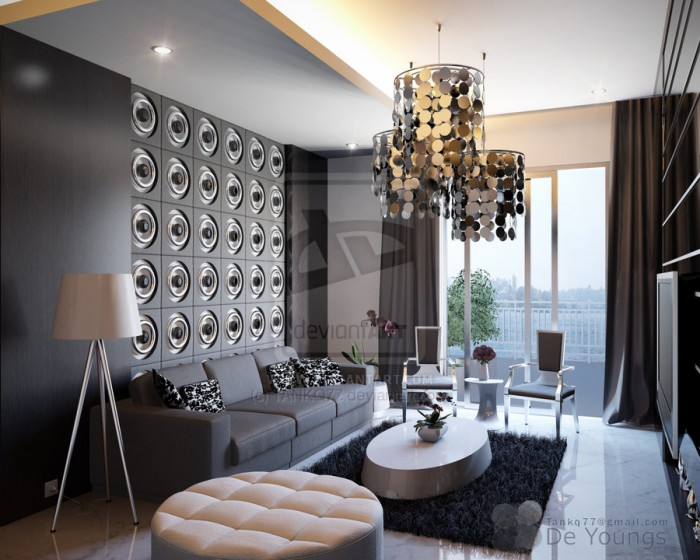 gray living room 49 designs