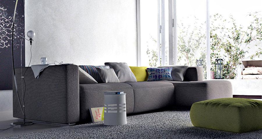 Grey sofa Matching Rug