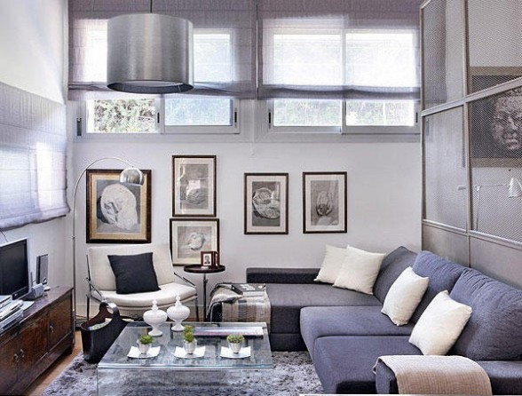 Exceptional Gray Living Room 51 Designs Part 8