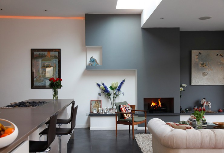 Fabulous Gray Living Room Designs To Inspire You Decoholic - Living room grey walls