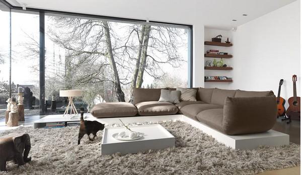 Gray Living Room 61 Designs