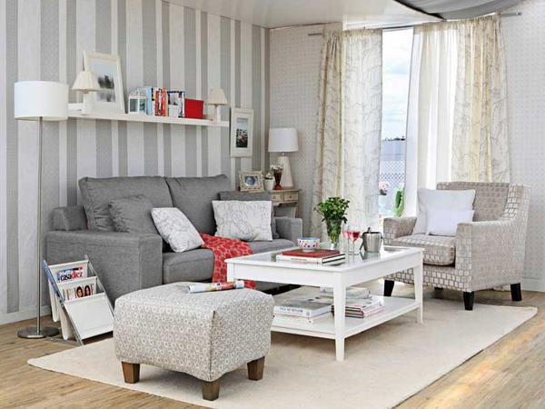 Gray Living Room 62 Designs
