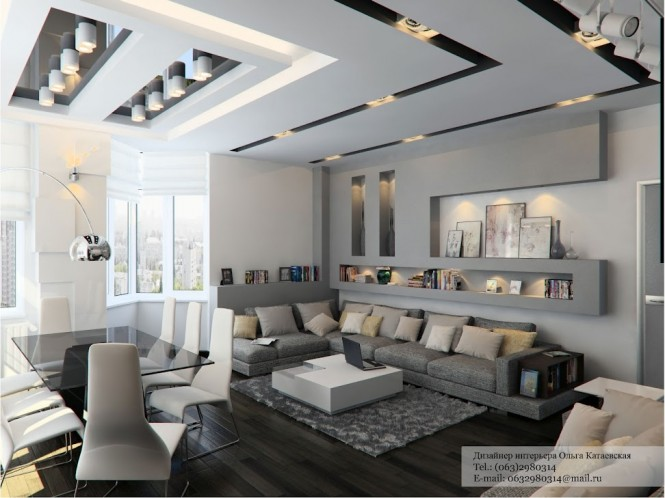 69 fabulous gray living room designs to inspire you for Modern living room design ideas 2013