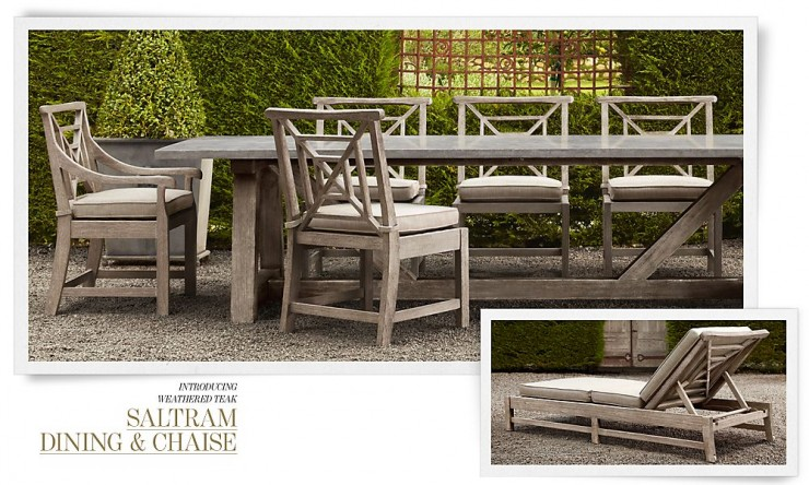 RH Outdoor Furniture 11 Collection Spring 2013