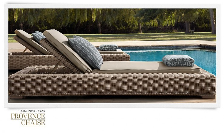 RH Outdoor Furniture 18 Collection Spring 2013