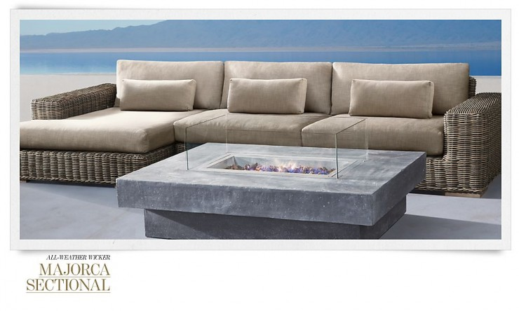 RH Outdoor Furniture 19 Collection Spring 2013