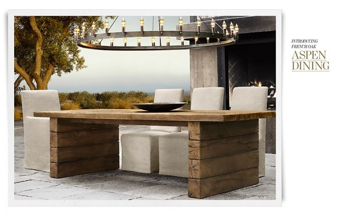 RH Outdoor Furniture 3 Collection Spring 2013
