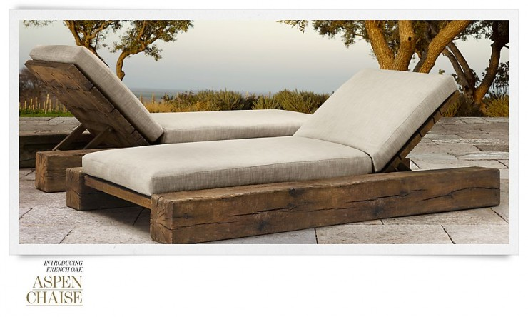 RH Outdoor Furniture 4 Collection Spring 2013