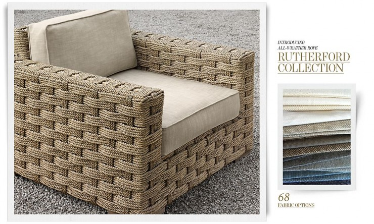 RH Outdoor Furniture 5 Collection Spring 2013