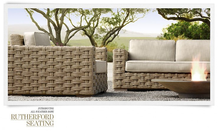 RH Outdoor Furniture 6 Collection Spring 2013