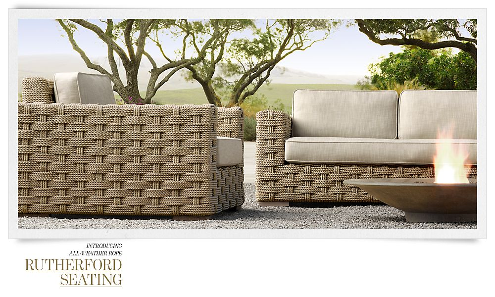 Charming Furniture Spring #12 - RH Outdoor Furniture 6 Collection Spring 2013