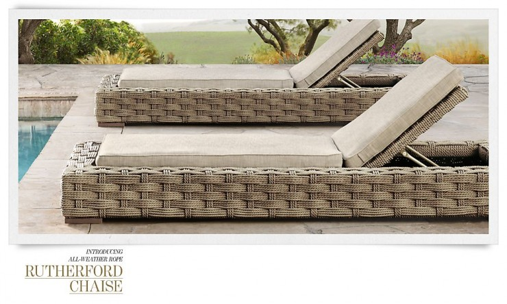 RH Outdoor Furniture 8 Collection Spring 2013