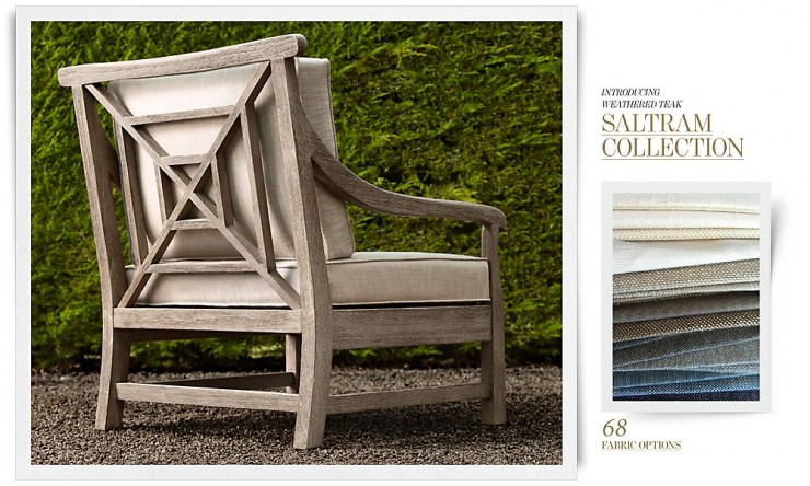 RH Outdoor Furniture 9 Collection Spring 2013