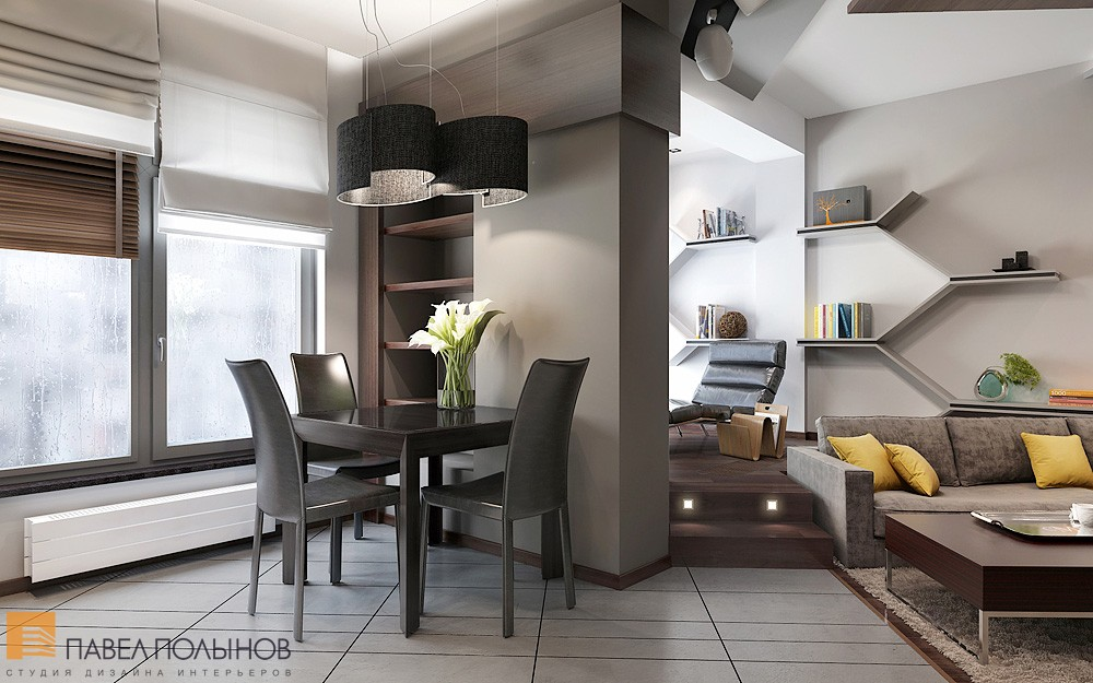 Comfortable and stylish small apartment decoholic for Casa moderna interior comedor