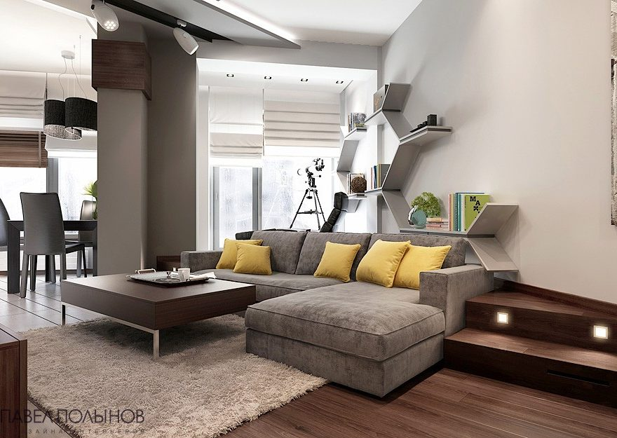 Stylish Small Apartment interior