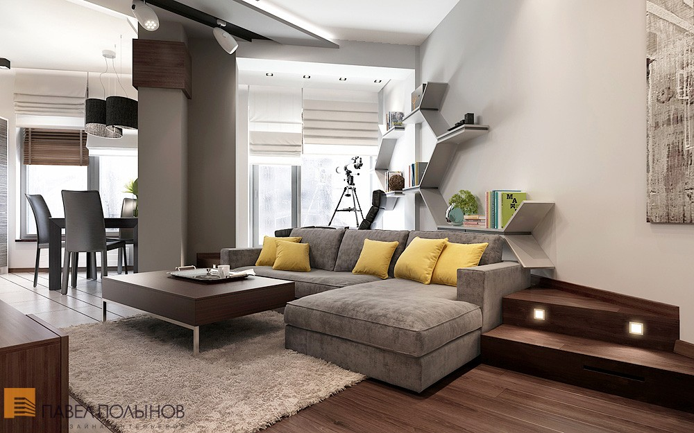 Comfortable and stylish small apartment decoholic for Modern small apartment interior