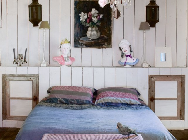 bedroom french eclectic decor