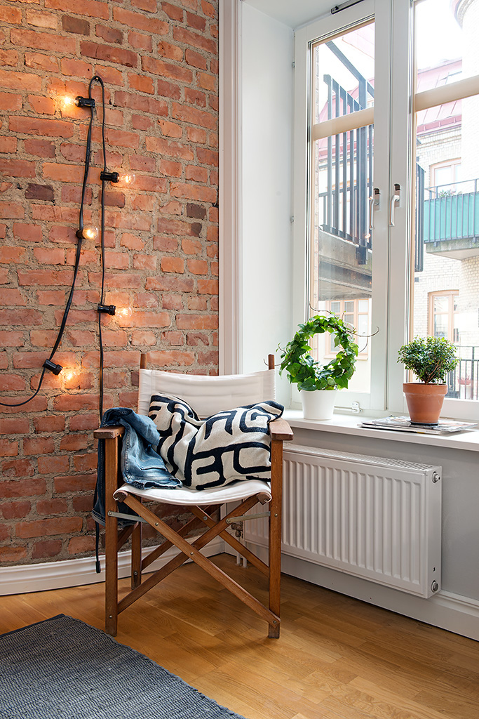 Charming Apartment With Spring Decorating In Sweden2