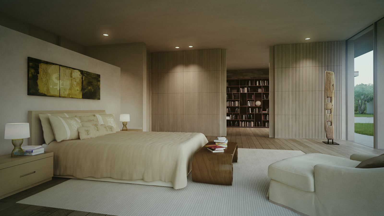 Small Cottage Bedrooms Contemporary Cottage By Ilan Pivko Decoholic