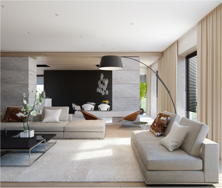 Contemporary Living Room 30 magnificent contemporary living room designsalexandra