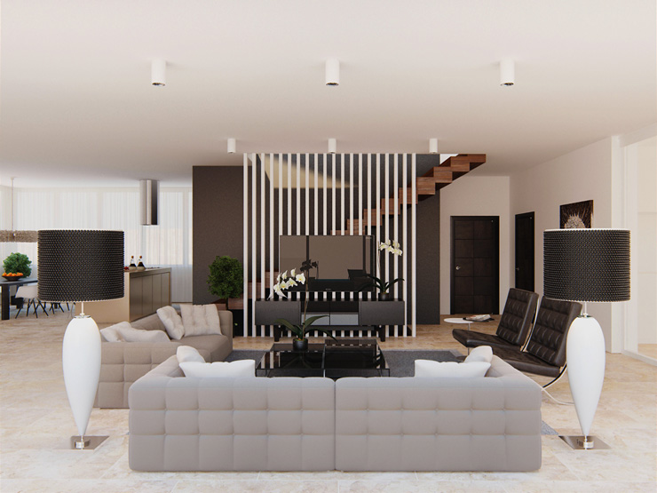 30 magnificent contemporary living room designs by. Black Bedroom Furniture Sets. Home Design Ideas