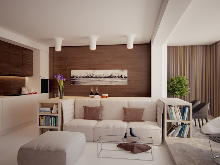 Contemporary Living Room Designs by Fedorova33