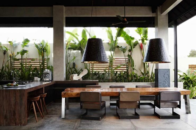 Luxury contemporary interior design by osiris hertman for Interior design villa bali