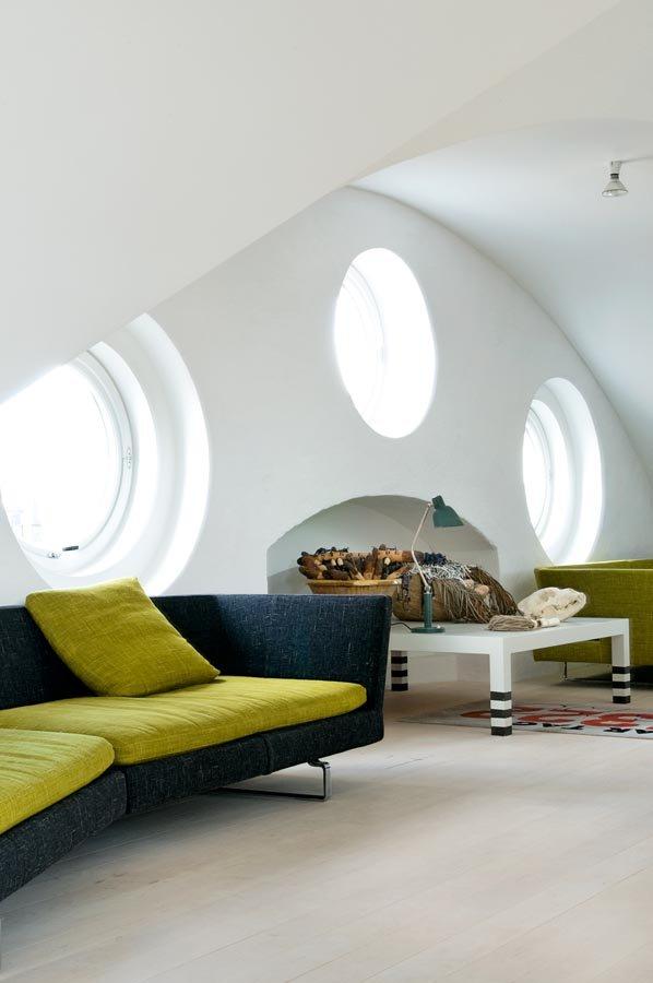 Industrial scandinavian Loft interior2