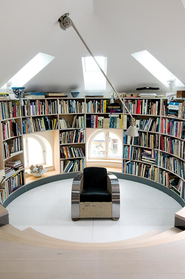 Industrial scandinavian Loft interior3