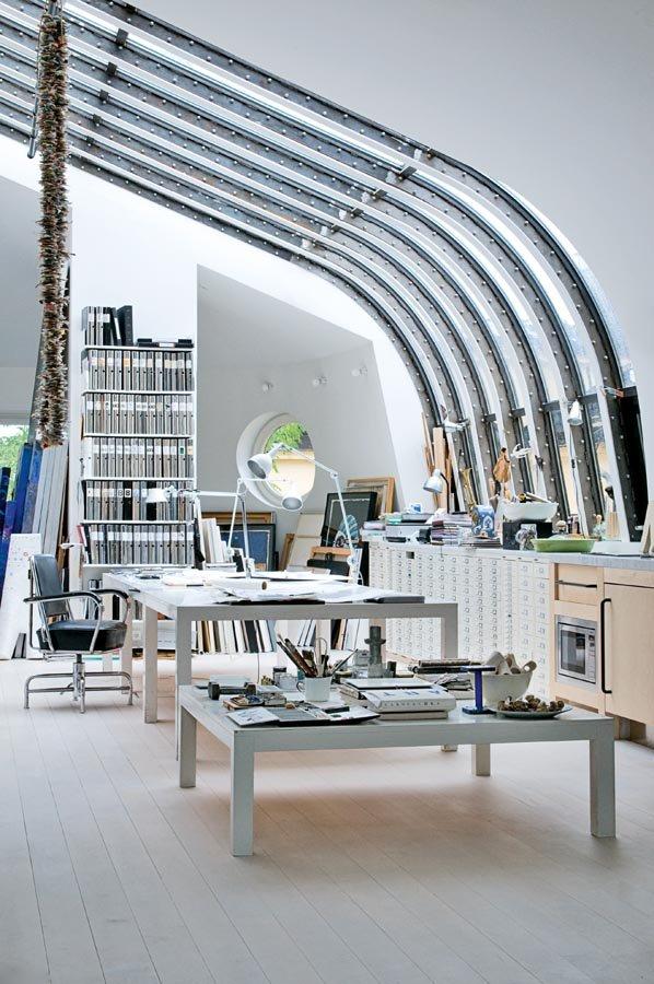 Industrial scandinavian Loft interior5