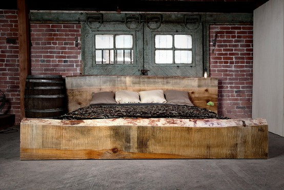 industrial bedroom design 12
