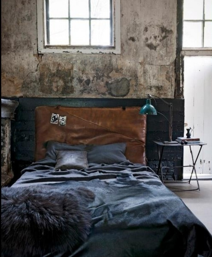 industrial bedroom design 13