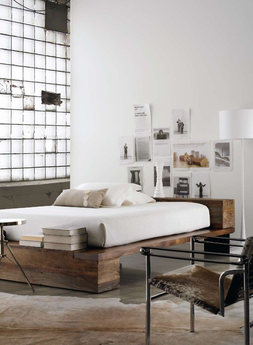 industrial bedroom design 14