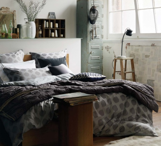 industrial bedroom design 16