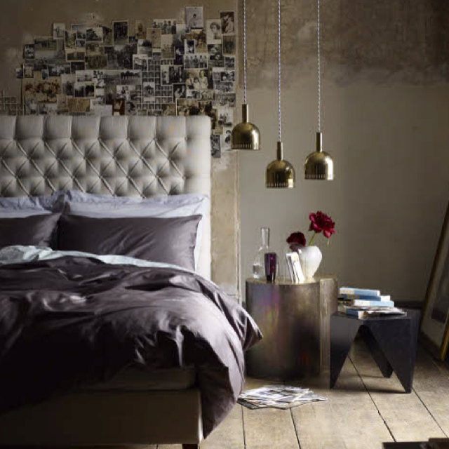 industrial bedroom with loft office designed by max zhukov