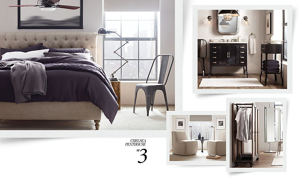 Industrial Bedroom Design 23