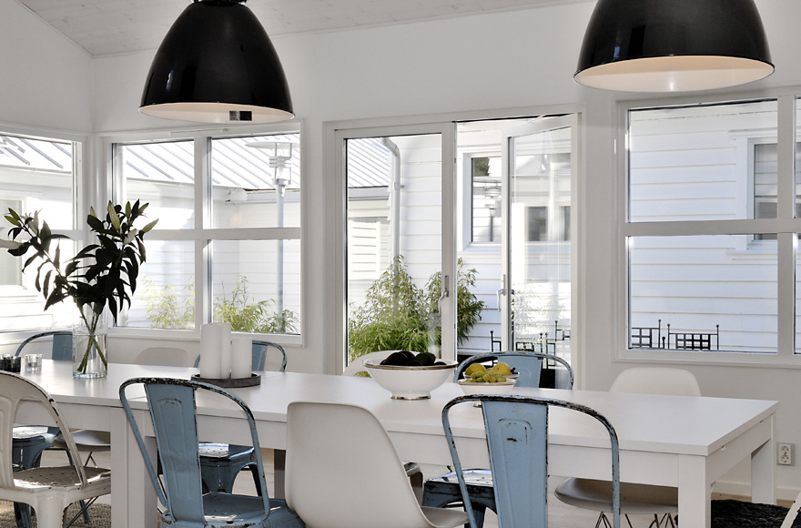 House with clean fresh palettes natural finishes and - One time interior house cleaning ...