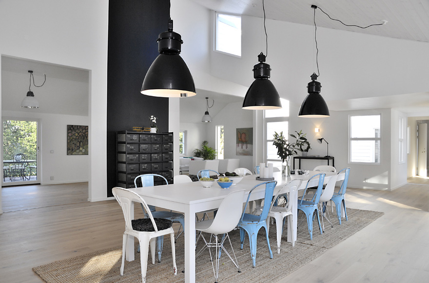 industrial scandinavian interior design