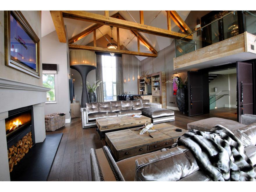Modern Country interior byThe Design Practice