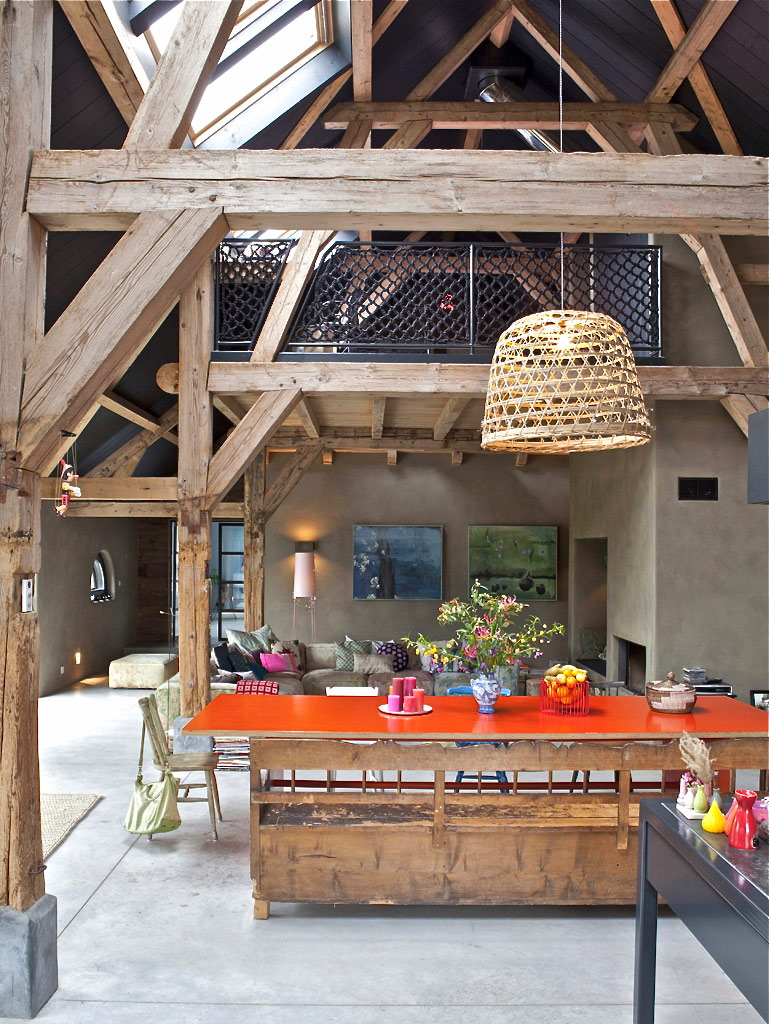 Country Interiors A Farmhouse Turned Into This Awesome Modern Country