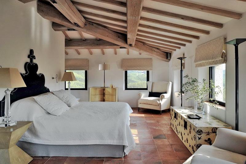 Большая спальня фото