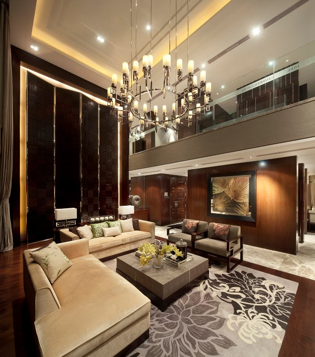 Excellent luxurious living room designs decoholic for Balcony living room design