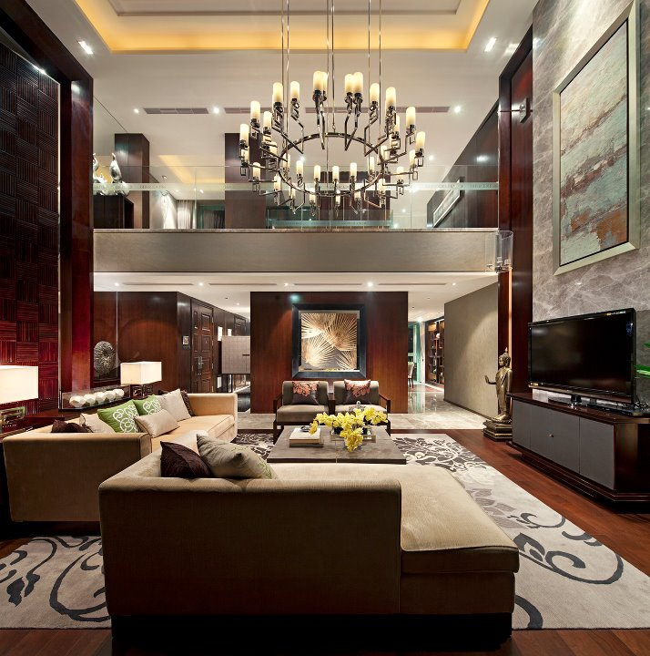 Luxury Homes Interior Decoration Living Room Designs Ideas: Excellent Luxurious Living Room Designs