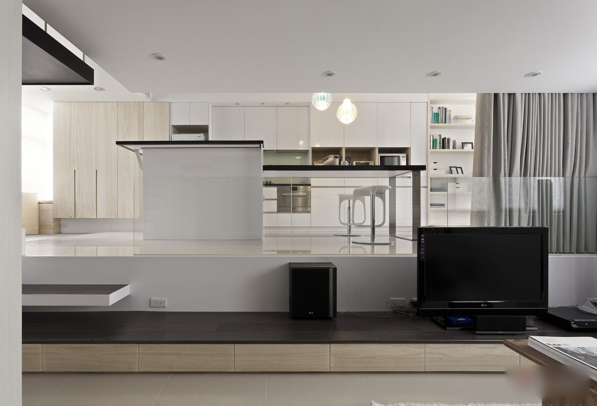 Modern and stylish small apartment decoholic for Modern living room small apartment