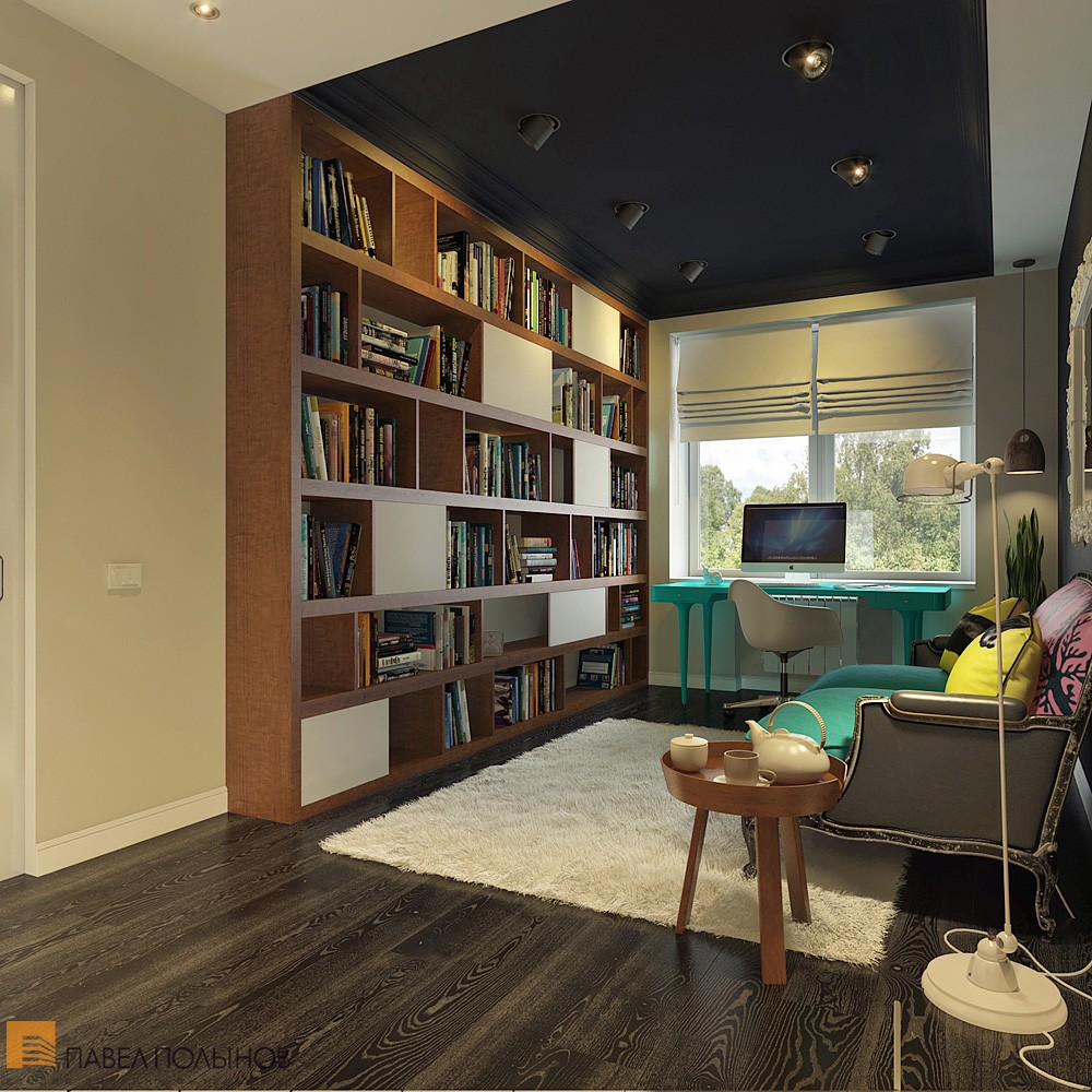 Bright and Cheerful Interior Design by Pavel Polinov ...