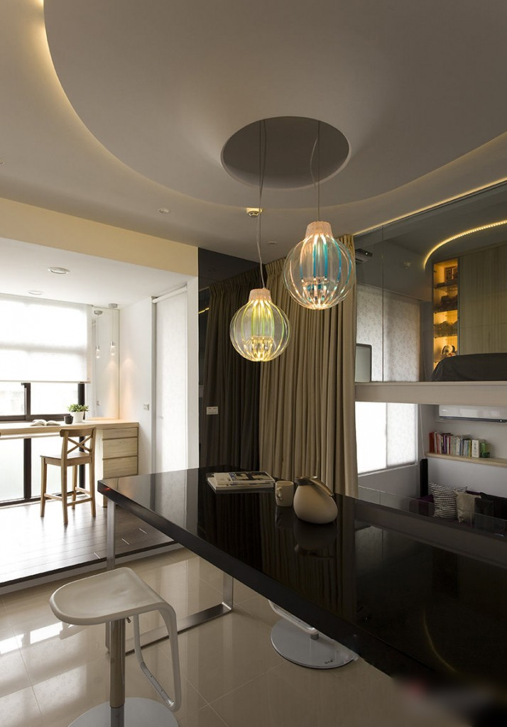 modern black and white apartment 9 interiors