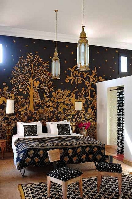 Moroccan Bedroom 11 Decorating Ideas